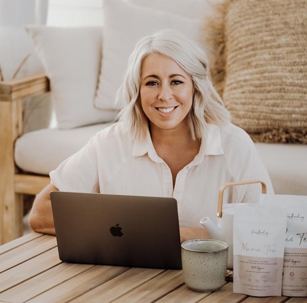 2020 AusMumpreneur Award winner – Jordana Edwards, Clean Tea and The Breastfeeding Tea Co